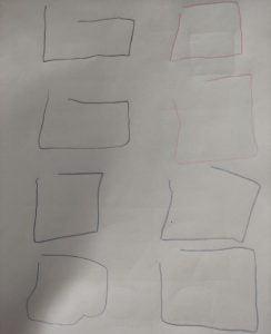 anaokulu gözler kapalı çizim